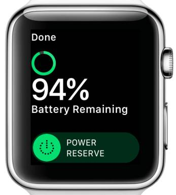 Save Battery on Apple Watch