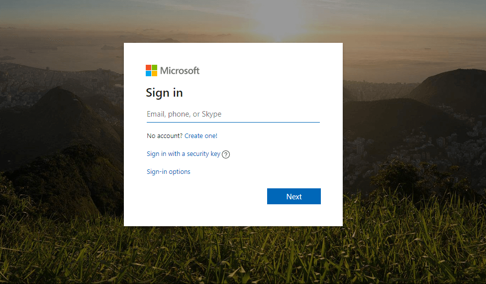 Sign in and go to Payments page