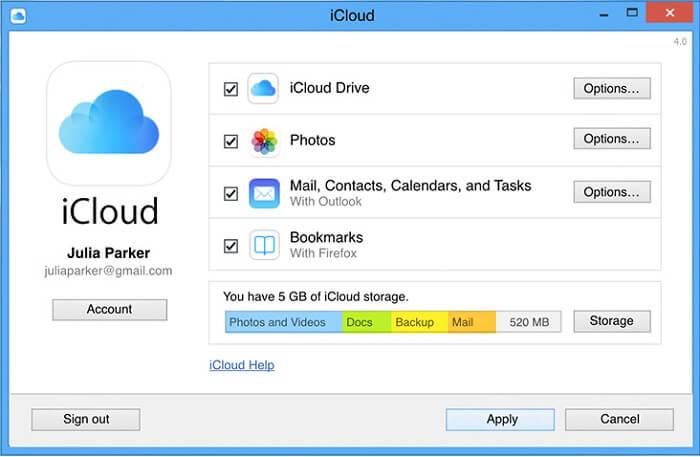 Transfer through Cloud Drive