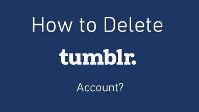 Delete Tumblr account