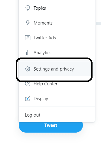 Settings and Privacy