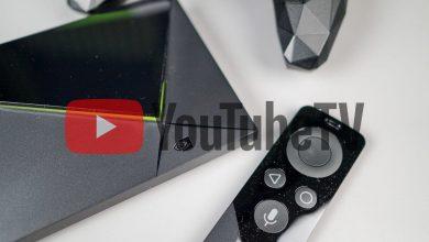 YouTube TV on Nvidia Shield