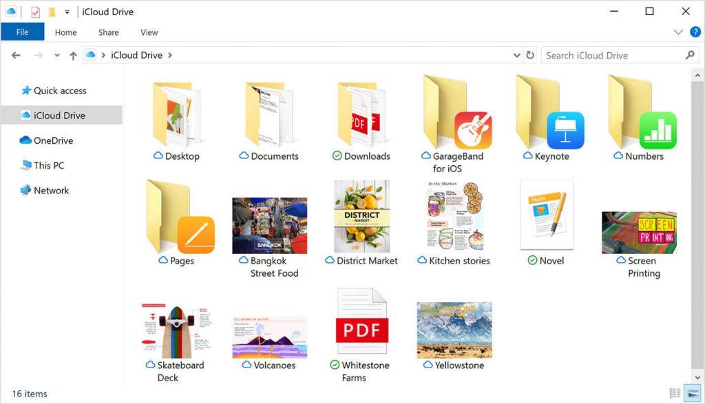 Setup iCloud on Windows
