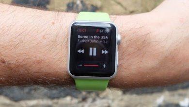 Amazon Music on apple watch