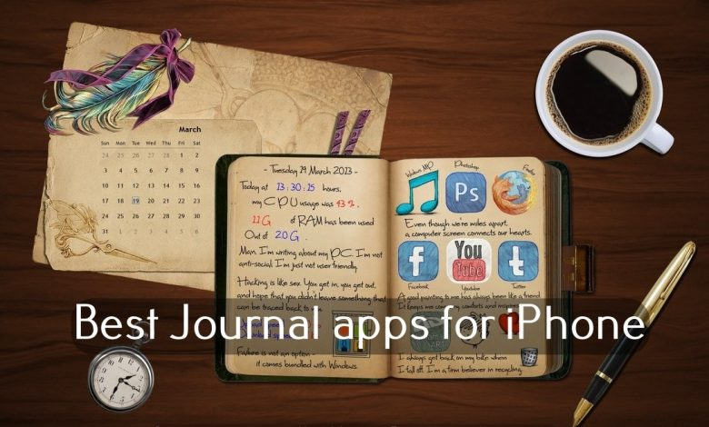 Best Journal apps for iphone