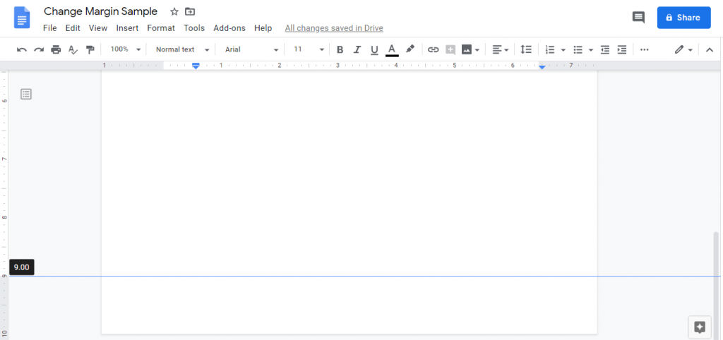 Bottom Margin - How to Change Margins In Google Docs