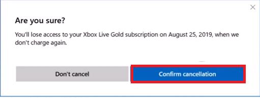 Cancel Xbox Live Subscription Xbox Website