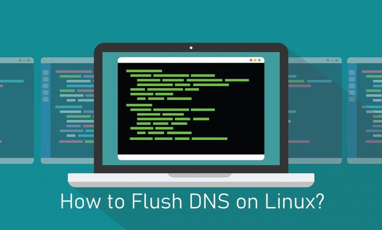 Flush DNS on Linux