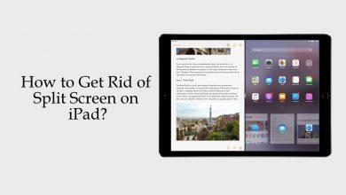 Get Rid of Split Screen on iPad