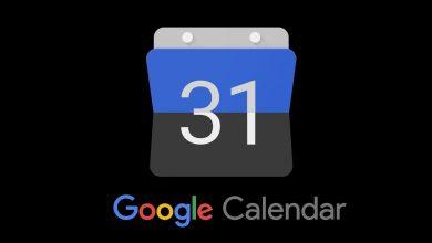 Google Calendar Dark Mode