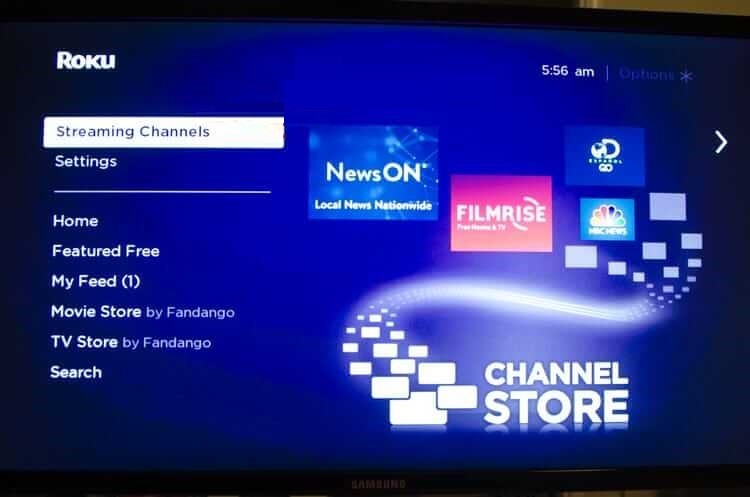 Highlight Streaming Channels