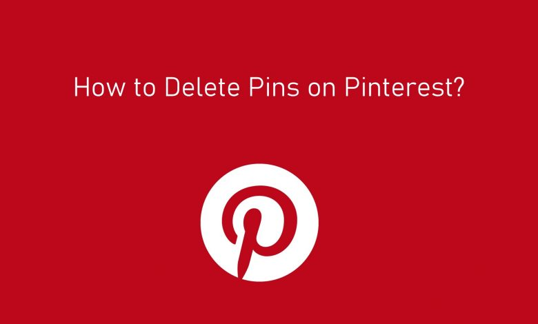 How to Delete pins on Pinterest
