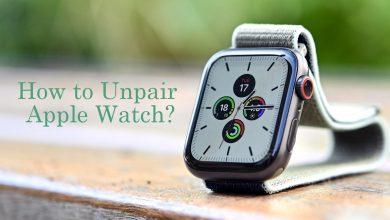 How to unpair Apple Watch