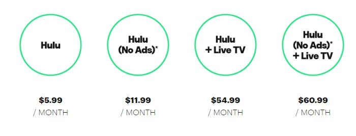 Hulu Premium Packages
