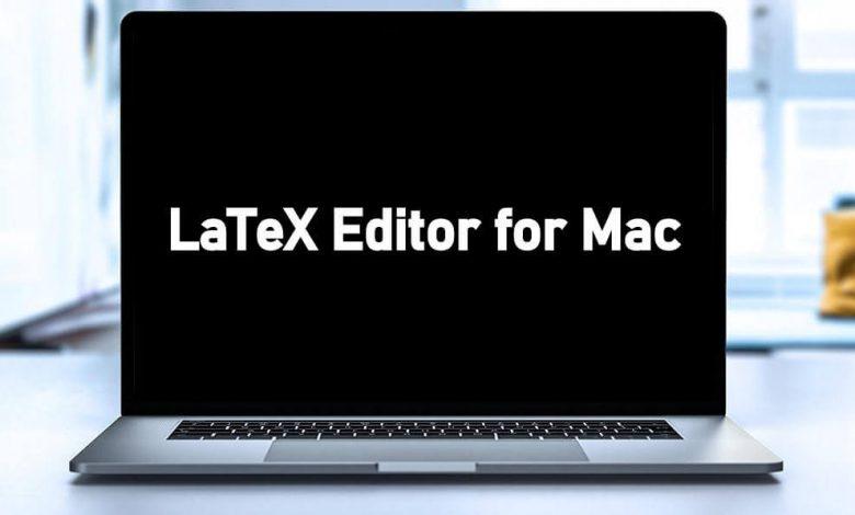 LaTeX Editor for Mac