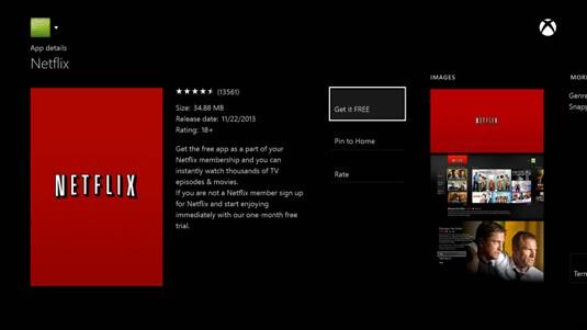 Netflix on Xbox 360