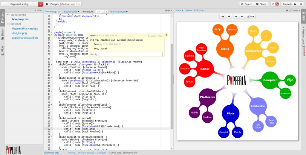 Papeeria - Best LaTeX Editor for Mac