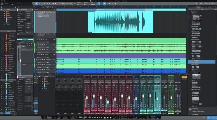PreSonus Studio One - Best DAW for Windows