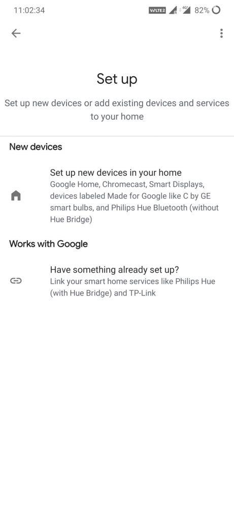 Set up Chromecast