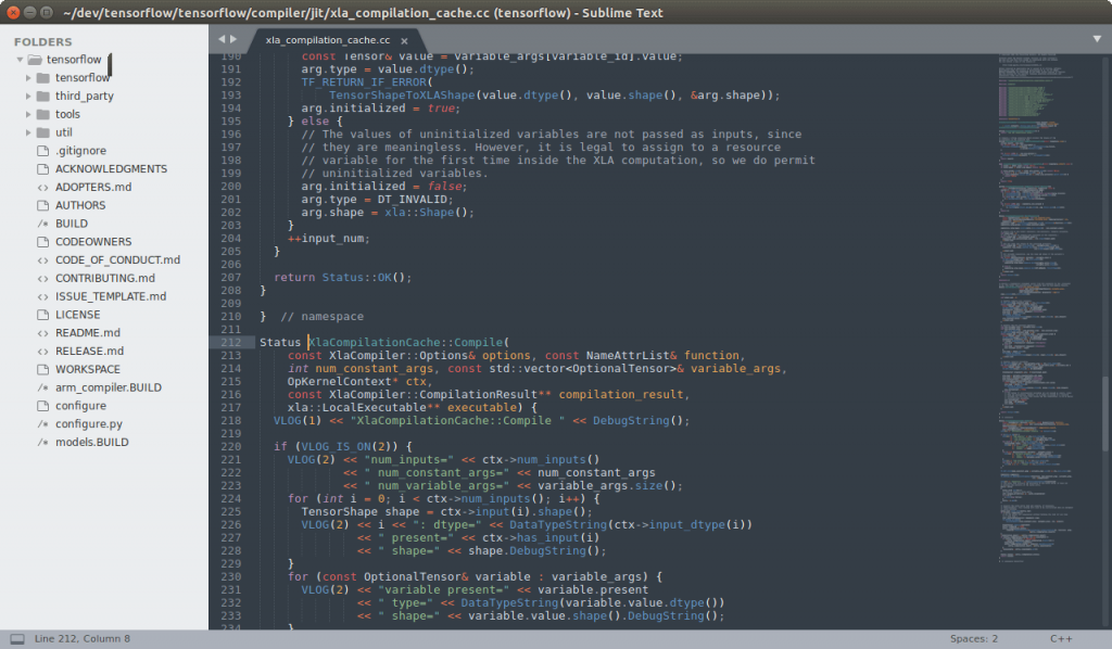Sublime Text - Best HTML Editors for Mac