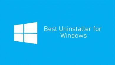 Uninstaller for Windows 10