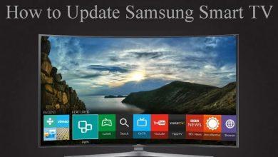 Update Samsung Smart TV