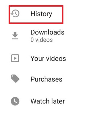 How to View History on YouTube