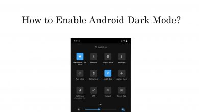 Enable Dark Mode on Android