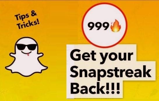 snapchat streak restore