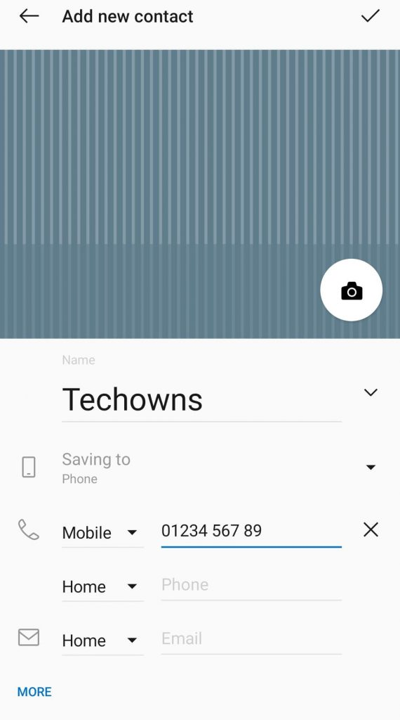Add Contact on Whatsapp (Android)
