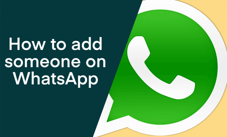 Add Someone on WhatsApp