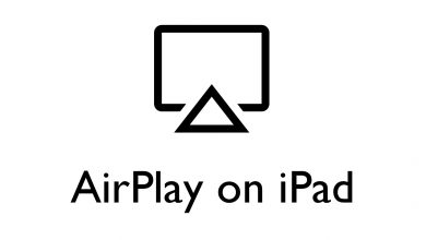 AirPlay on iPad