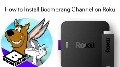 Boomerang on Roku