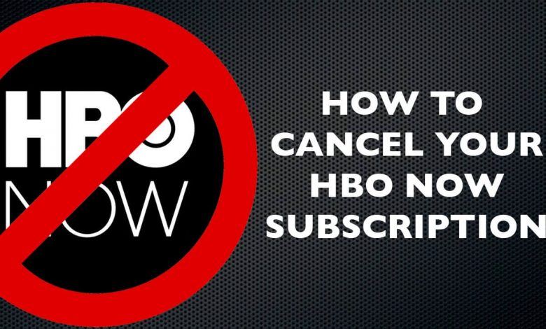 Cancel HBO Now
