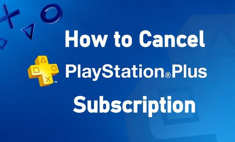 Cancel PlayStation Plus