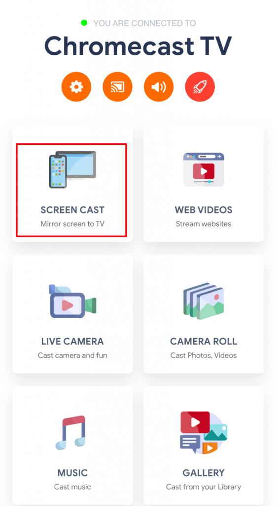 Streamer for Chromecast app
