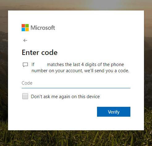 Change your Skype Password on Web