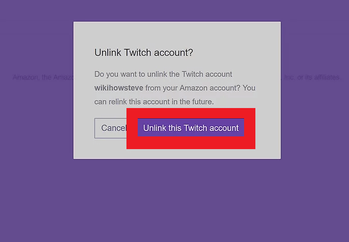 Choose this Twitch Account - How to Cancel Twitch Prime