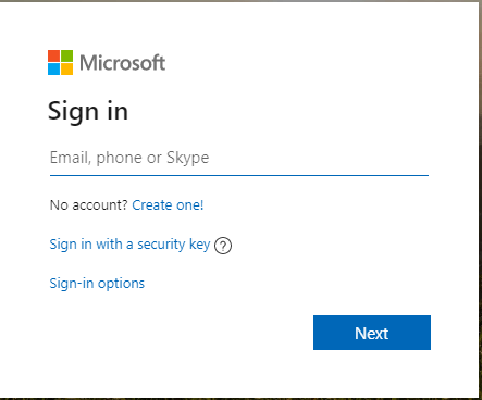 Sign in to Microsoft Outlook