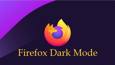 Dark mode on Firefox