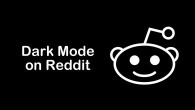Dark mode on reddit