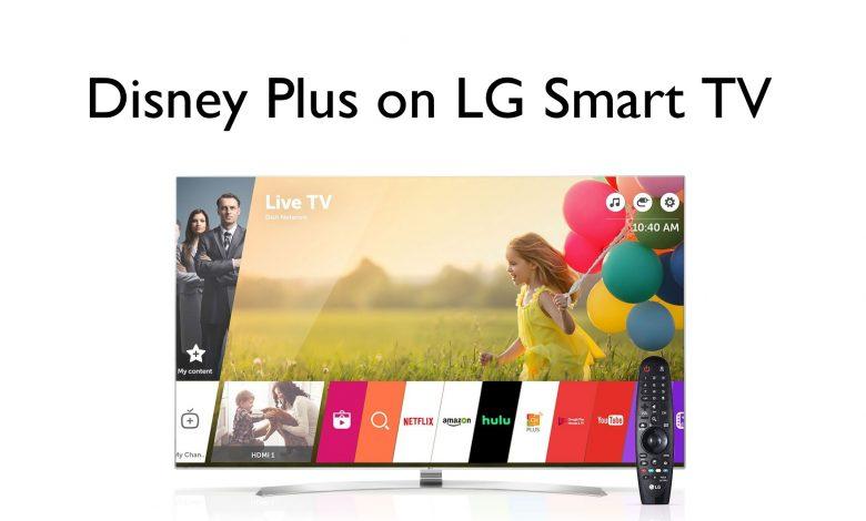Disney Plus on LG Smart TV