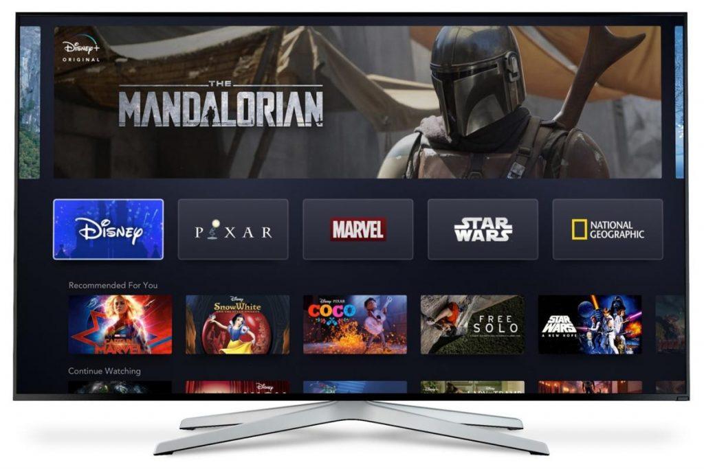 Disney Plus on Sony Smart TV