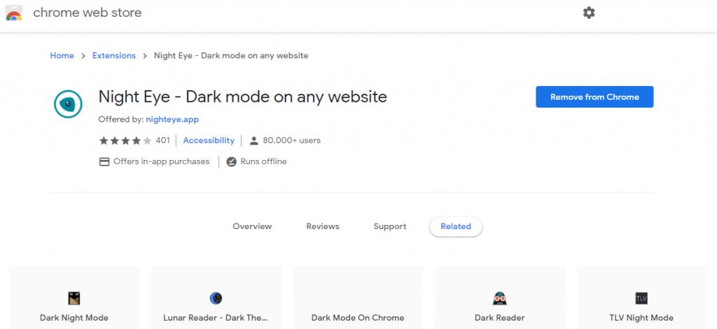Enable Pinterest Dark Mode on PC