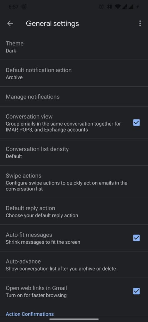 How to Enable Gmail Dark Mode