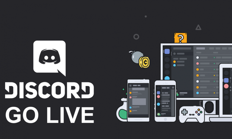 Go Live on Discord