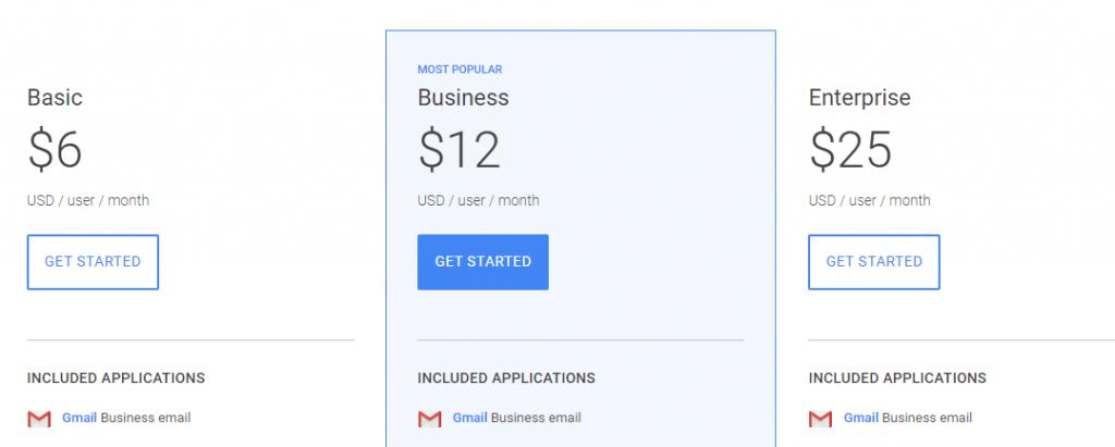 Google Hangouts Meet Price