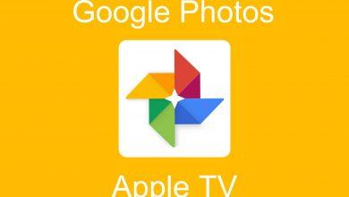 Google Photos on Apple TV