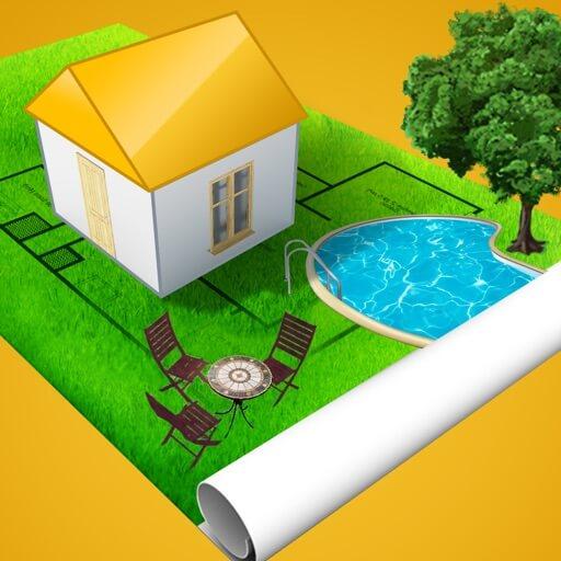 Home Design 3D Outdoor Garden - Interior design apps for ipad