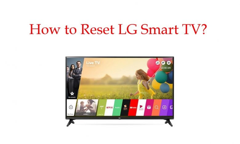 How to reset LG Smart TV